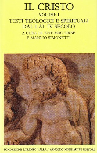 9788804260554: Il Cristo: 1 (Scrittori greci e latini)