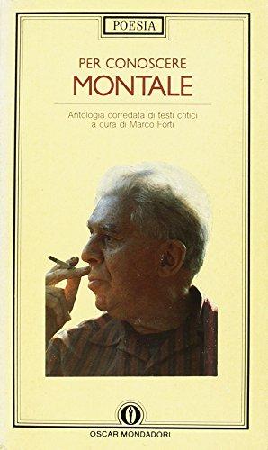 9788804276869: Per conoscere Montale (Oscar poesia)