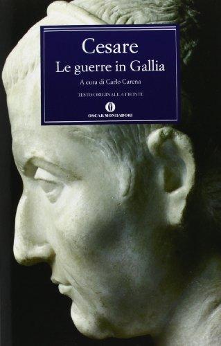 9788804347255: Le guerre in Gallia-De bello gallico