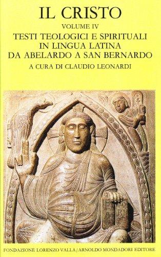 9788804348252: Il Cristo (Vol. 4)
