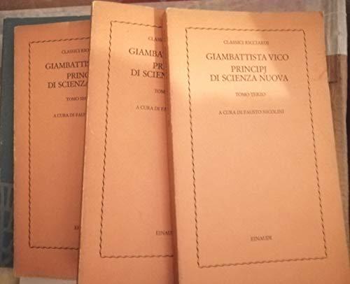 9788804354307: Principi DI Scienza Nuova (Italian Edition)