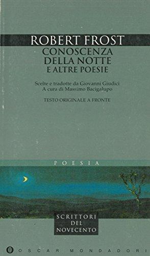 9788804388258: Conoscenza della notte e altre poesie (Oscar narrativa)