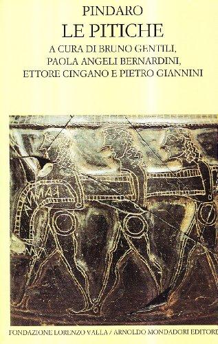 9788804391432: Le pitiche (Scrittori greci e latini)