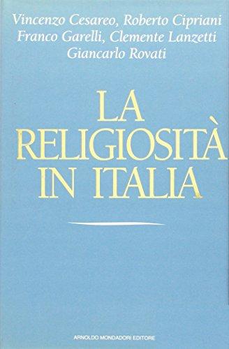 La religiosità in Italia.: AA.VV.