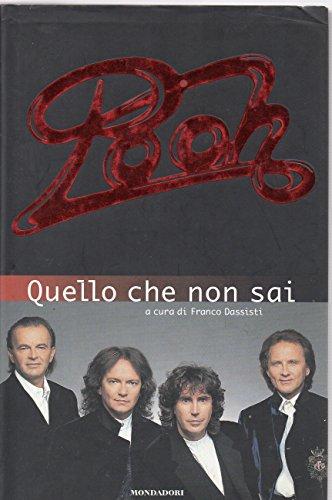 9788804424543: Quello che non sai (Ingrandimenti) (Italian Edition)