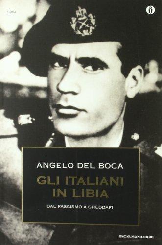 9788804432357: Gli italiani in Libia