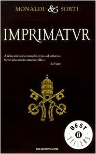 9788804517559: Imprimatur, italienische Ausgabe