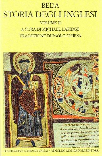 9788804594185: Storia degli inglesi. Testo latino a fronte: 2 (Scrittori greci e latini)