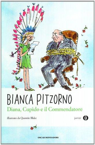 9788804599142: Diana, Cupido e il commendatore