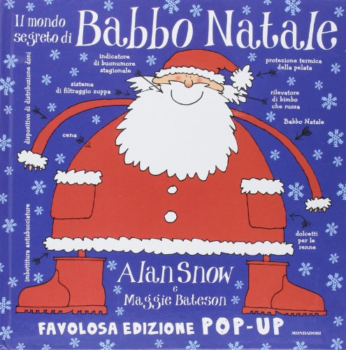 9788804612841: Il mondo segreto di Babbo Natale. Libro pop-up. Ediz. illustrata