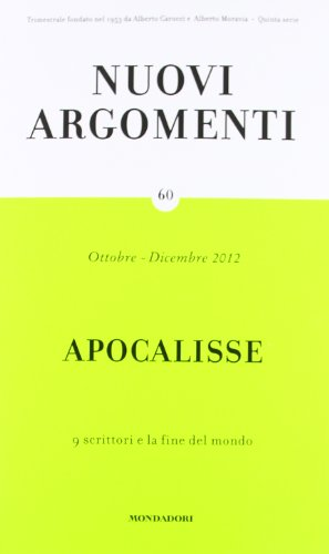 Nuovi argomenti vol. 60 - Apocalisse, 9: aa vv