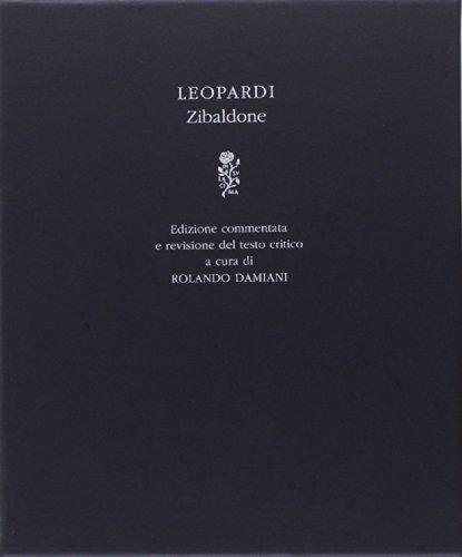 9788804641247: Zibaldone e commentata. Ediz. critica (I Meridiani. Paperback)