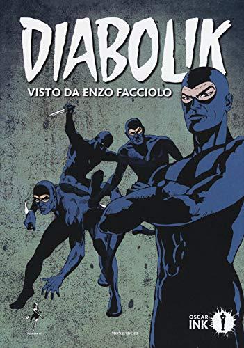 9788804707257: Diabolik visto da Enzo Facciolo. Con Poster