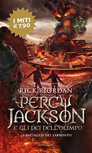 9788804727491: La battaglia del labirinto. Percy Jackson e gli dei dell'Olimpo (Vol. 4)