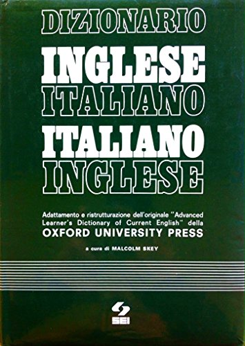 9788805049295: Dizionario inglese-italiano, italiano-inglese. Adattamento e ristrutturazione dell'originale «Advanced learner's dictionary of current English» dell'O. U. P.