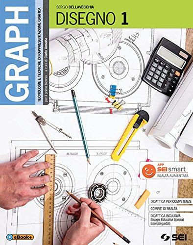 9788805076680: Graph. Tecnologie e tecniche di rappresentazione grafica. Disegno. Per le Scuole superiori. Con 2 libri: Materiali, misura, sicurezza - Schede di disegno: 1