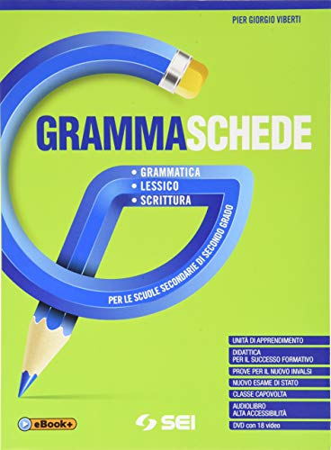 9788805077557: Grammaschede. Con Lessico e Schemi e tabelle. Per le Scuole superiori. Con e-book. Con espansione online. Con DVD-ROM