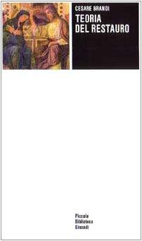9788806093815: Teoria del restauro (Piccola biblioteca Einaudi)