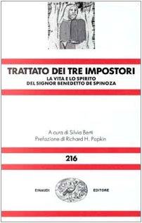 9788806114220: Trattato dei tre impostori: La vita e lo spirito del signore Benedetto de Spinoza (Nova universale Einaudi)