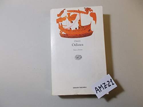 9788806116040: Odissea. Testo greco a fronte