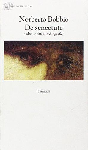 9788806136086: De senectute e altri scritti autobiografici