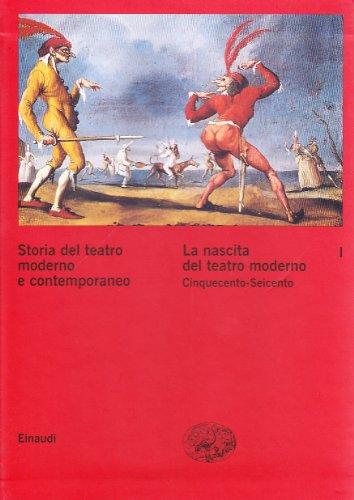 9788806147501: Storia del teatro moderno e contemporaneo (Italian Edition)
