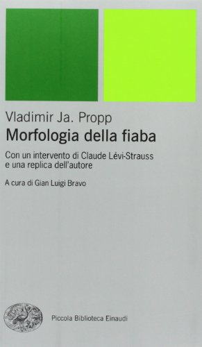 9788806154516: Morfologia della fiaba (Piccola biblioteca Einaudi. Nuova serie)