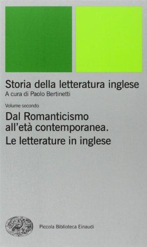 9788806156428: Storia della letteratura inglese