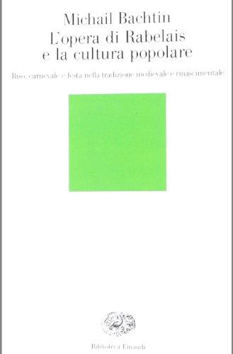 9788806160609: L'opera di Rabelais e la cultura popolare