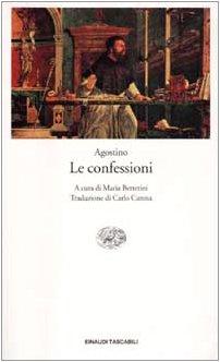 9788806162320: Le confessioni. Testo latino a fronte