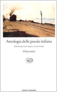 9788806164072: Antologia Della Poesia Italiana: Ottocento