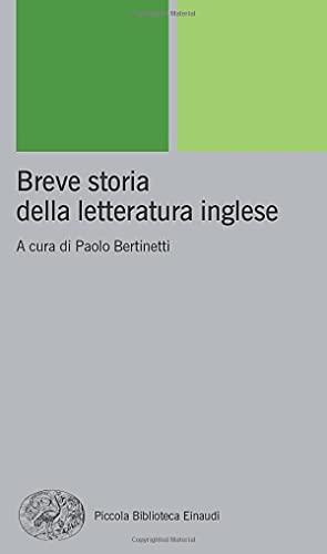 9788806167707: Breve storia della letteratura inglese