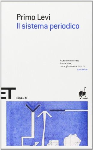 9788806175016: Il Sistema Periodico (Italian Edition)