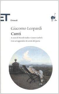 9788806177416: Canti (Italian Edition)