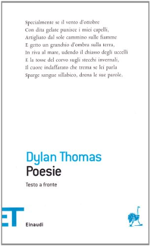 Dylan Thomas.Poesie.Testo a Fronte (Italian Edition) (9788806185602) by Dylan Thomas