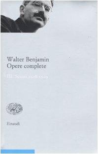 9788806196844: Opere complete vol. 3 - Scritti 1928-1929