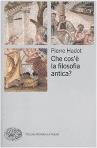 9788806203900: Che cos'è la filosofia antica?