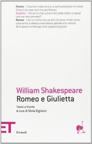 9788806210472: Romeo e Giulietta. Testo inglese a fronte