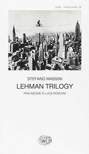 9788806216337: Lehman Trilogy