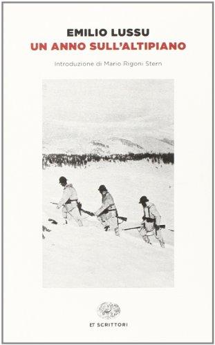 9788806219178: Un anno sull'altipiano (Einaudi tascabili. Scrittori)