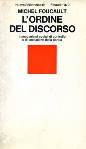 L'ordine del discorso: Foucault, Michel
