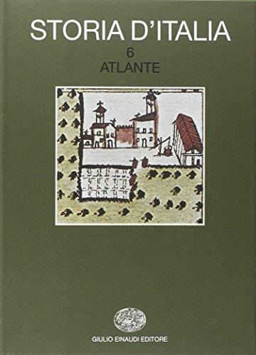 9788806457570: Storia d'Italia vol. 6 - Atlante