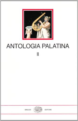 9788806493127: Antologia palatina. Testo greco a fronte
