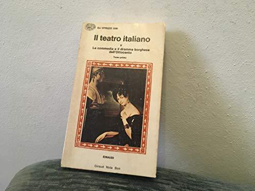 9788806494032: Il teatro italiano: 5\1 (Gli struzzi)