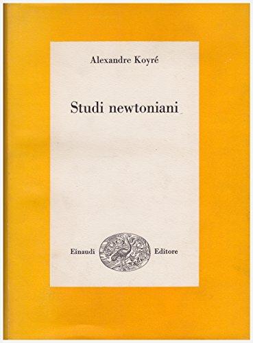 9788806548254: Studi newtoniani