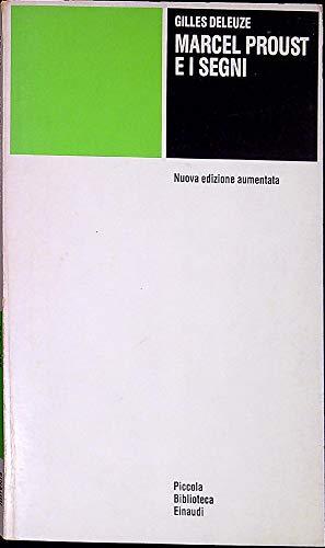 9788806592202: Marcel Proust e i segni (Piccola biblioteca Einaudi)
