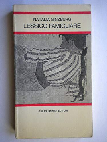9788806593209: Lessico Famigliare (Gli struzzi) (Italian Edition)