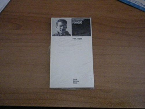 9788806599713: Fenoglio: I testi, l'opera (Piccola biblioteca Einaudi) (Italian Edition)