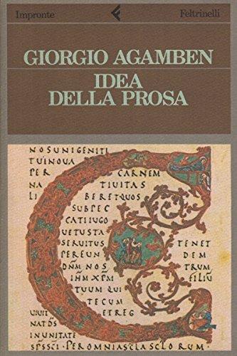 Idea della prosa (Impronte)