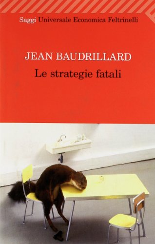 Le strategie fatali (8807722496) by Jean Baudrillard